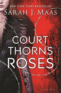 Red's Blended Book Views reviews Sarah J. Maas's A Court of Thorns and Roses. Here is the cover!